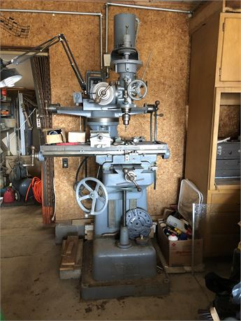 Fray All Angle Milling Machine