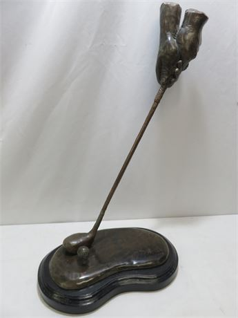 P.D.BUCKLEY Golf Club Hand Grip Statue - Artist's Proof Edition