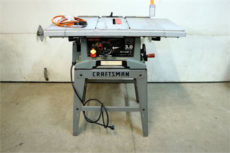 """Craftsman 10"""" Table Saw with Stand"""