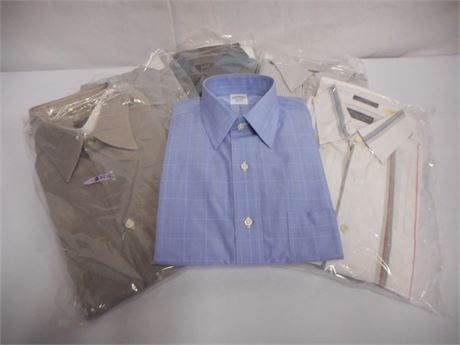6 MENS DRESS SHIRTS - NEW