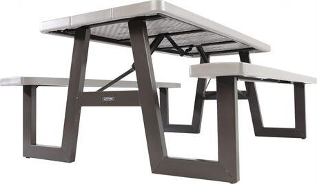 LIFETIME 6-Ft. Folding Picnic Table