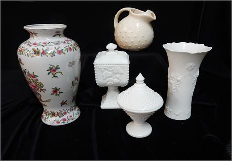 Collectible Glass and Pottery