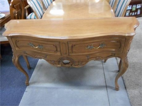 BEAUTIFUL CENTURY FURNITURE SERPENTINE FRONT BUFFET