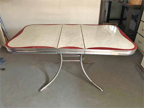 Mid Century  Formica Dining Table