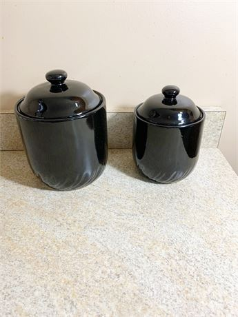 Home Collection Stoneware Containers