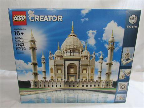 Large Lego Creator 10256 Taj Mahal Set- 5,923 Pieces