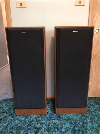 Sony Floor Speakers