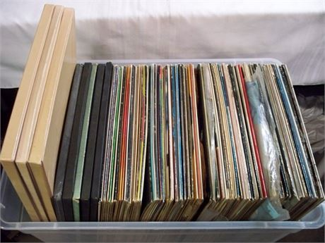 HUGE ALBUM LOT - OVER 100 RECORDS - MOSTLY CLASSICAL