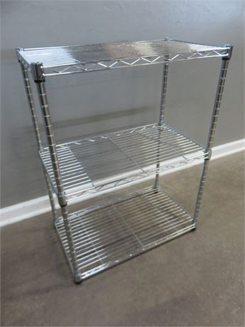 Steel 3-Shelf Stand