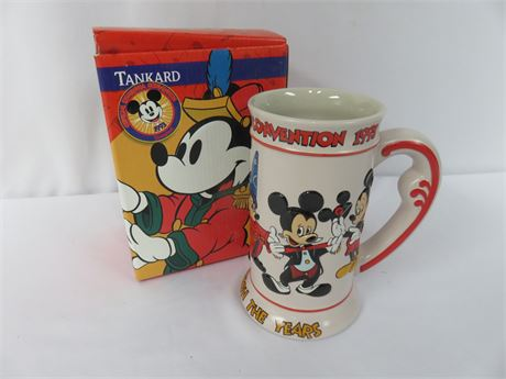1993 Limited Edition Mickey Through The Years Tankard