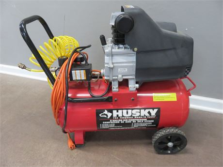 HUSKY 8 Gallon Portable Air Compressor