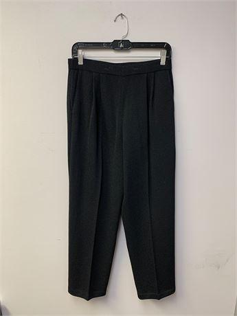 St. John Black Knit Pants