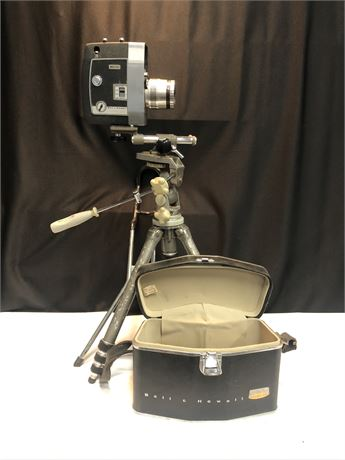 Vintage Bell and Howell Director series 8mm Movie Camera