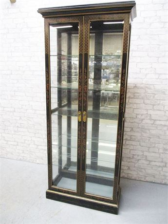 ASIAN-INSPIRED CURIO CABINET