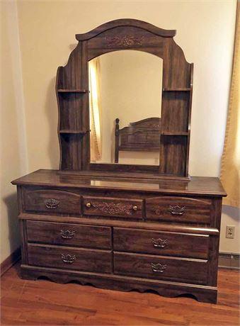 Mirrored Dresser