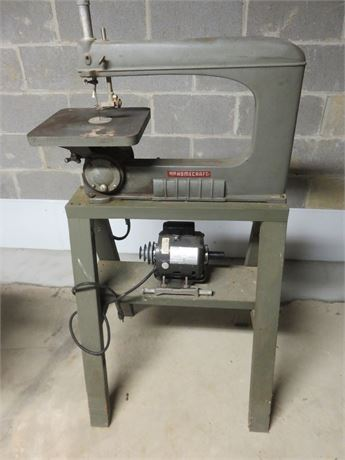 Vintage DELTA Homecraft Scroll Saw