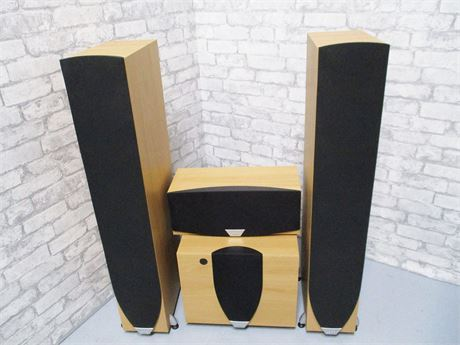 JAMO SURROUND SOUND SPEAKERS