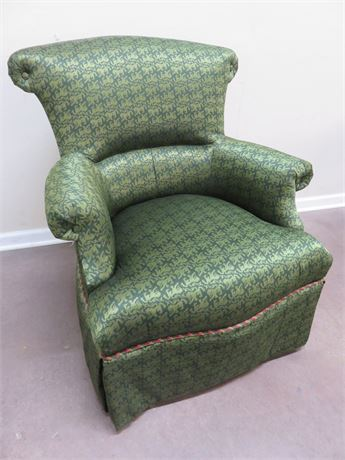 TAYLOR KING Skirted Arm Chair