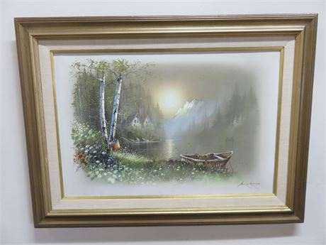 ANDRE ORPINAS Canvas Oil Painting (Signed)
