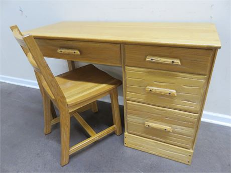 BRANDT Ranch Oak Western Desk