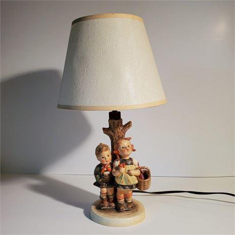 "Goebel Hummel ""To Market"" Table Lamp"