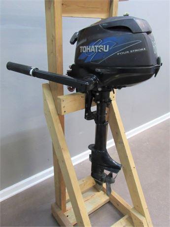 Tohatsu 4 Stroke 3.5hp Outboard Trolling Motor