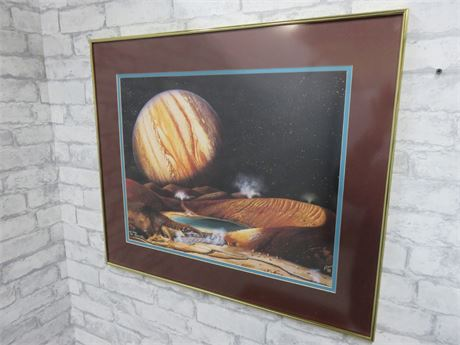 Mary Flynn Limited Edition Jupiter Plantescape Print (Signed)