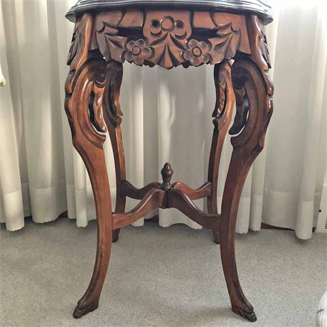 Inlaid Accent Table