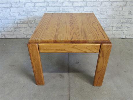 Oak End/Side Table