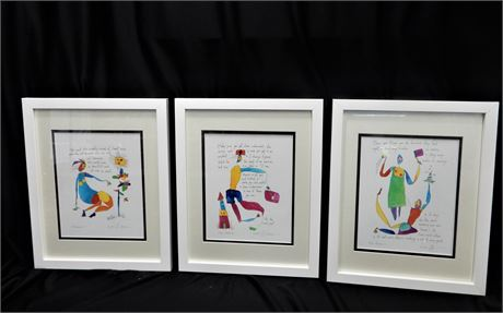 Three Story People Prints by Brian Andreas
