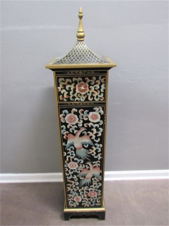 Colorful Oriental/Asian Storage Cabinet