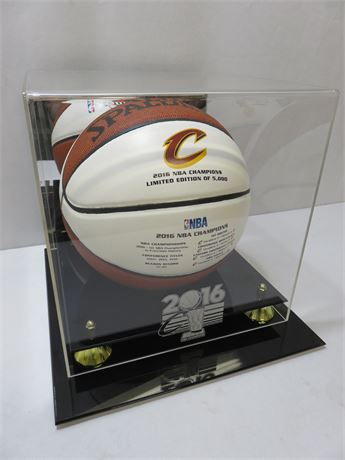 SPALDING Limited Edition 2016 NBA Finals Champion Cleveland Cavaliers Basketball