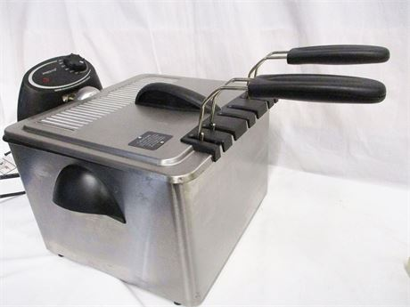 PRESTO COUNTERTOP FRYER MODEL 0546504