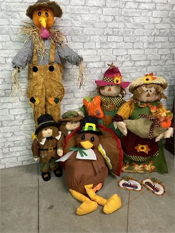 Fall Harvest Decoration Lot