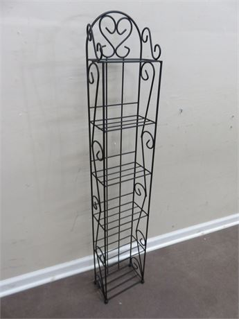 Metal Etagere Stand