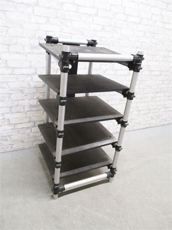 ADJUSTABLE STEREO EQUIPMENT RACK