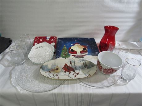 14 Piece Misc. Holiday/Christmas Lot