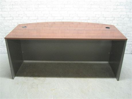 CURVED FRONT OFFICE DESK