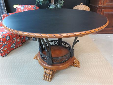 Hand-Painted Foyer Table