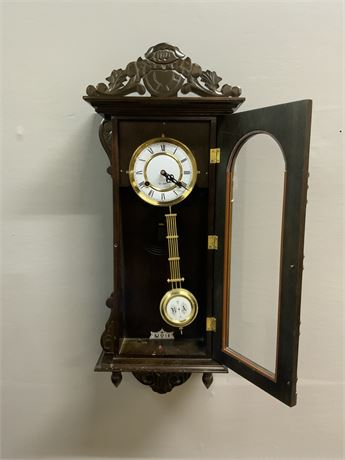 Vintage 31-Day RA Wall Clock