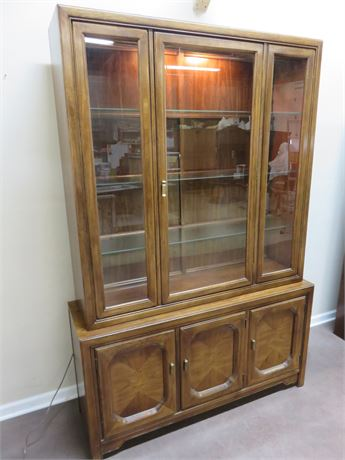 Vintage Mid-Century China Hutch
