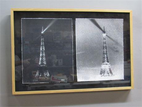 Framed Eiffel Tower Prints