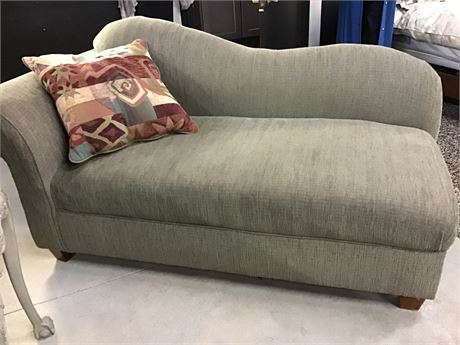 Sage Green Chaise NEW PRICE!!