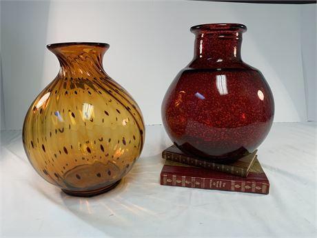 Lot of 2 decorative Vases