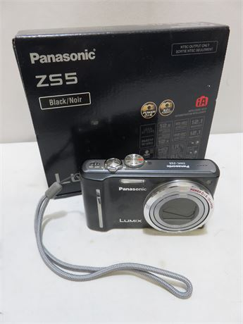 PANASONIC ZS5 Lumix 12.1 MP Digital Camera
