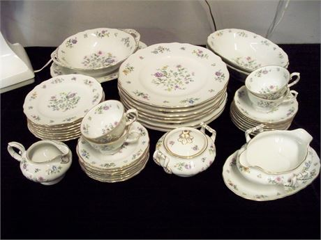 FRANCONIA-KRAUTHEIM SELB - BAVARIA GERMANY - MILLIEFLEURS CHINA - 40+ PIECES