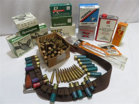 Ammunition & Gun Care Lot