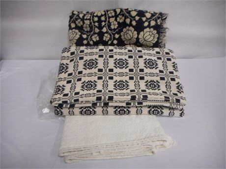 3 BEDSPREADS/THROWS