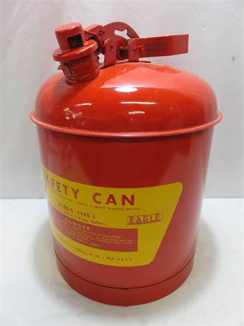 EAGLE 5-Gallon Steel Type I Safety Can