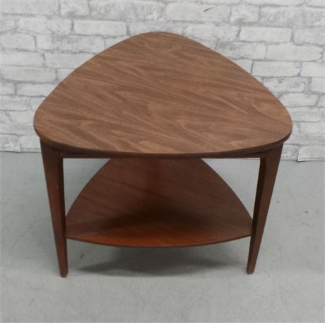 Mid Century laminated end table